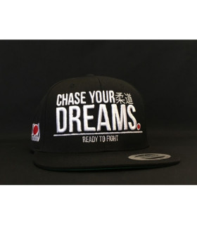 Gorra Ippon Gear CHASE YOUR DREAMS Negro